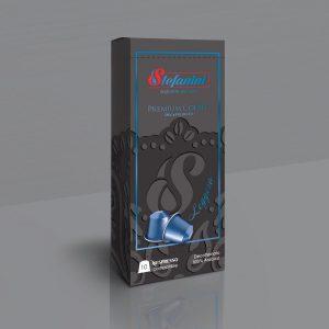 Кафе на Капсули Stefanini Leggero Decaffeinato Съвместими с Nespresso* х 10бр. в кутия