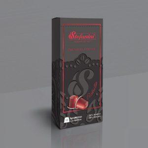 Кафе на Капсули, Stefanini Ristretto, Съвместими с Nespresso* х 10бр в кутия