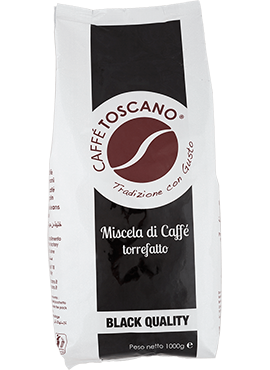 Кафе на зърна, Caffé Toscano, Black Quality, 1kg