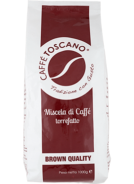 Caffe Toscano Brown Quality 1kg