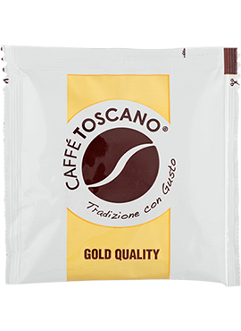 Кафе на Дози, Caffé Toscano, Gold Quality, 7g. x 150бр. в кашон