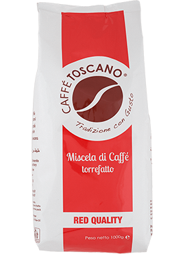 Caffe Toscano Red Quality 1kg