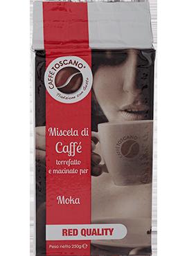 Caffe Toscano Red Quality 250gr