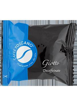 Caffe Toscano Segni d'Arte Giotto (decaffeinato)-кашон 50бр
