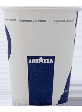 Чаши картон Lavazza 100бр