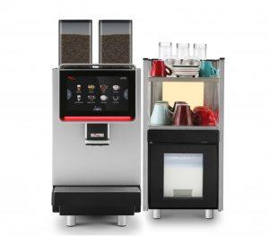 Кафемашина за Кафе на Зърна Напълно Автоматична, за Големи Офиси и ХоРеКа