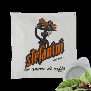 Кафе на Дози, Caffé Stefanini dal 1951, Silver Strong Quality, 30% Арабика 70% Робуста, 7g, x 150бр. в кашон