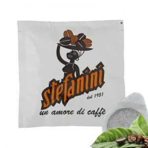 Кафе на Дози, Caffé Stefanini dal 1951, Silver Strong Quality, 30% Арабика 70% Робуста, 7g, x 50 бр. в кутия