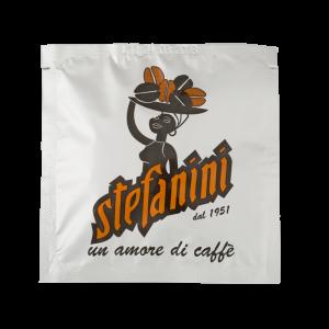 Кафе на Дози, Caffé Stefanini dal 1951, Silver Quality, 40% Арабика 60% Робуста, -7g x 150бр. в кашон