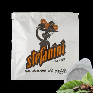 Кафе на Дози Caffe' Stefanini dal 1951, Silver Quality, 40% Арабика 60% Робуста, -7g x 150