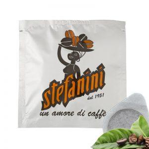 Кафе на Дози, Caffé Stefanini dal 1951, Silver Quality, 40% Арабика 60% Робуста, -7g x 50 бр. в кутия
