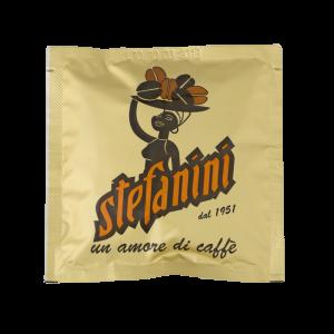 Кафе на Дози, Caffé Stefanini dal 1951, Gold Quality, 70% Арабика 30% Робуста, 7g x 150бр. в кашон