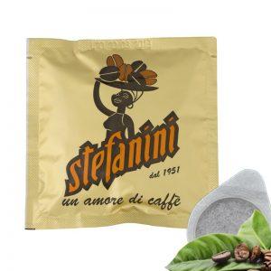Кафе на Дози, Caffé Stefanini dal 1951, Gold Quality, 70% Арабика 30% Робуста, 7g x 50 бр. в кутия