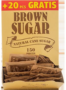 Кафява захар 5гр. – 170бр.