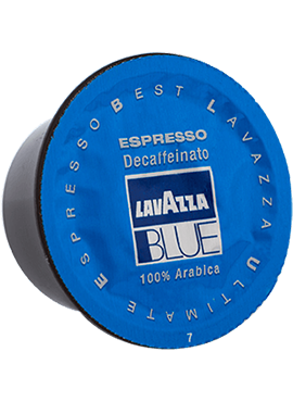 Кафе на капсули Lavazza Blue Decaffeinato- кашон 100бр