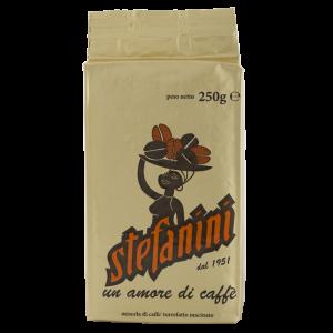 Кафе Мляно, Caffe' Stefanini dal 1951, Gold Quality, 70% Арабика 30% Робуста, 250g