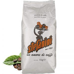 Кафе на зърна, Caffé Stefanini dal 1951, Silver Quality,  40% Арабика 60% Робуста, 1kg