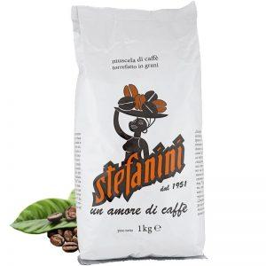 Кафе на Зърна, Caffé Stefanini dal 1951, Silver Strong Quality, 30% Арабика 70% Робуста, 1kg