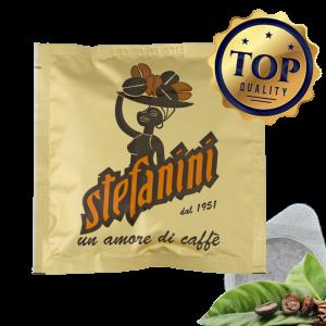 Кафе на Дози, Caffé Stefanini dal 1951, Top Quality – 100% Арабика, 7g x 150бр. в кашон