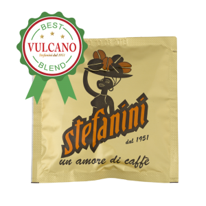 Кафе на Дози, Caffé Stefanini dal 1951, Vulcano – 100% Арабика, 7g x 150бр. в кашон