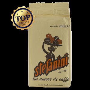КАФЕ МЛЯНО, CAFFÉ STEFANINI DAL 1951, TOP QUALITY – 100% АРАБИКА, 250G