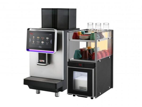 Комплект кафемашина с хладилник Dr. coffee CS2, Под наем - 3
