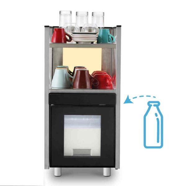 Комплект кафемашина с хладилник Dr. coffee CS2 - 1