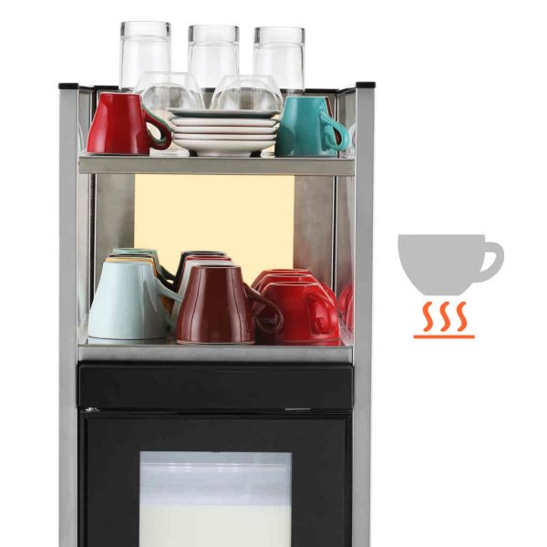 Комплект кафемашина с хладилник Dr. coffee CS2 - 2