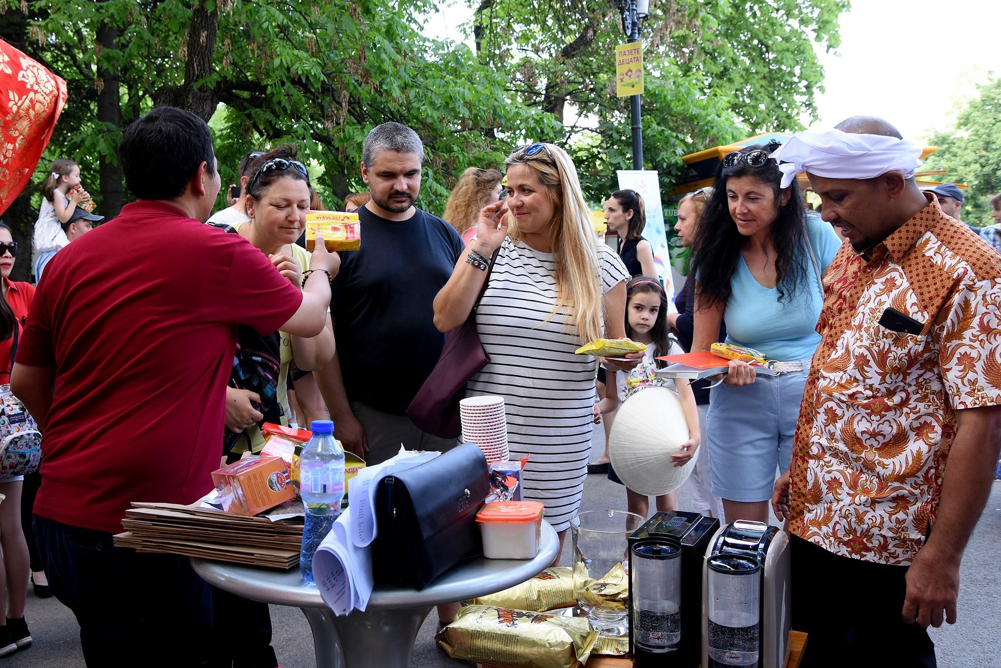 Дегустация на Кафе Арабика от остров Суматра на Азиатски Фестивал София 2019 – Магията на Изтока