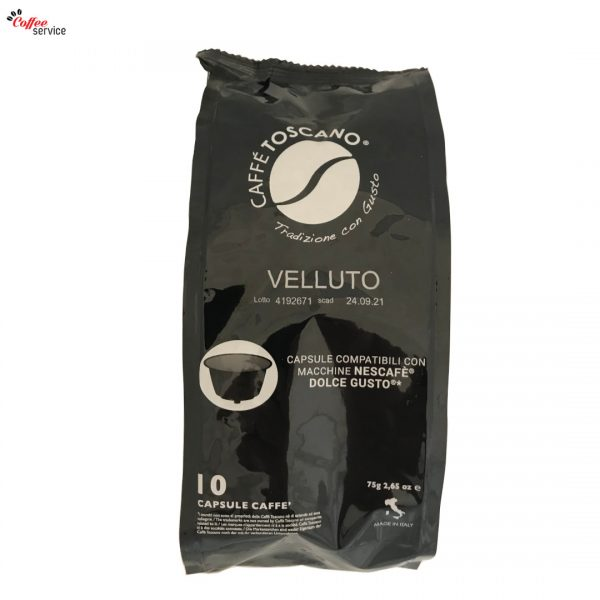 Капсули за Dolce Gusto*, Toscano Segni d'Arte Velluto x10
