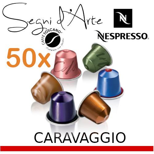 Капсули за Nespresso*, Toscano Segni d'Arte Caravaggio x 50