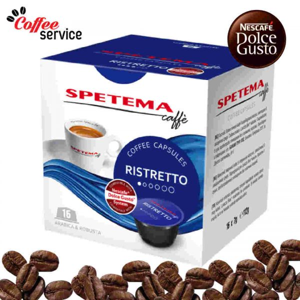 Капсули за Dolce Gusto*, Spetema Ristretto x 16