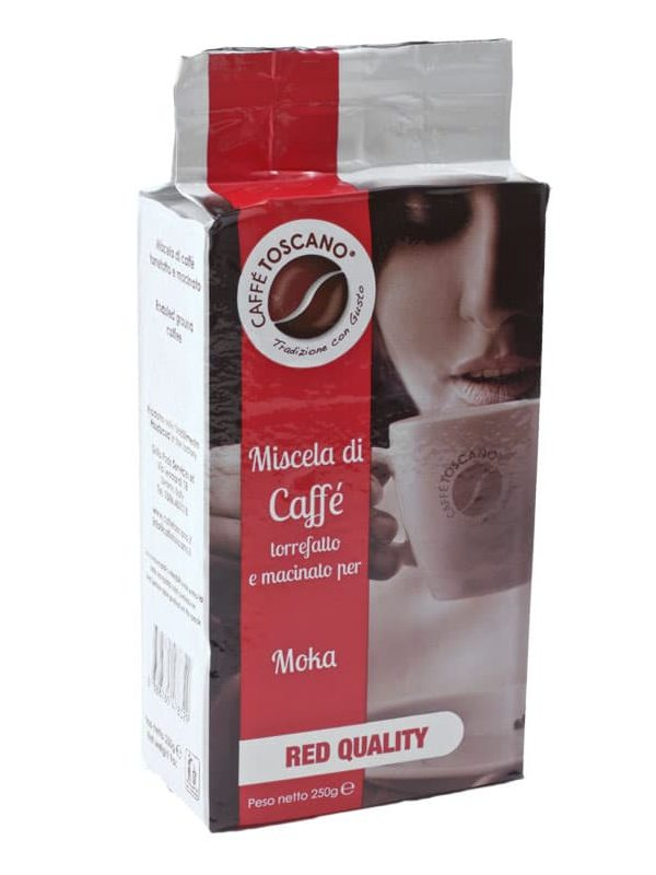 Кафе мляно, Toscano Red Quality, 250g - 0