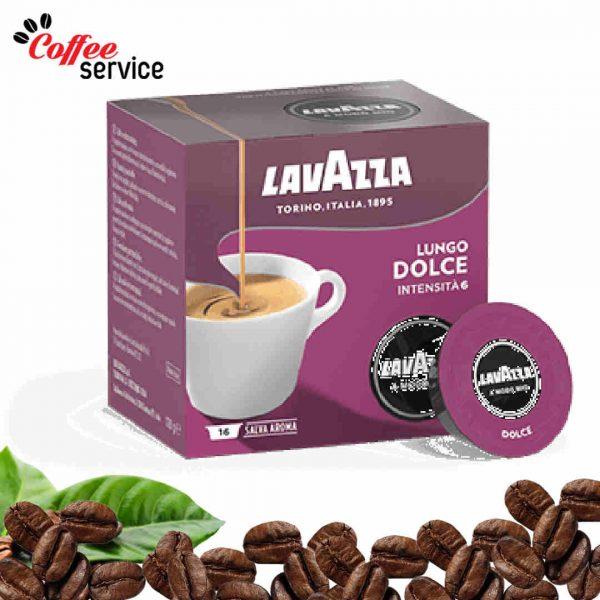 Кафе капсули, Lavazza A Modo Mio Lungo Dolce, x 16