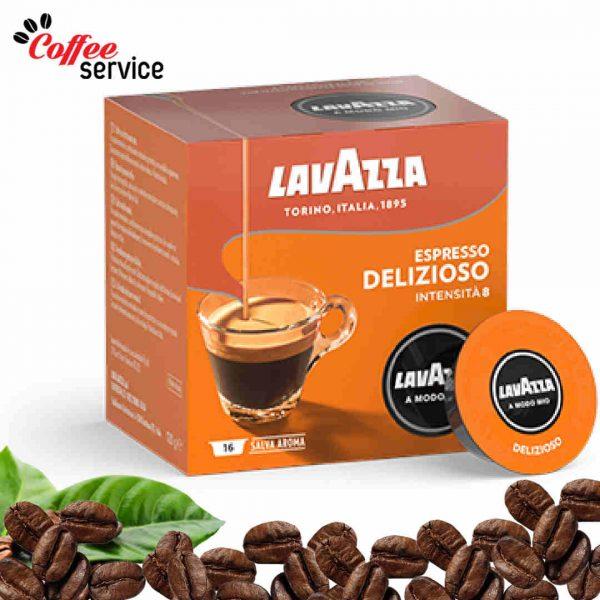 Кафе капсули, Lavazza A Modo Mio Delizioso, x 16