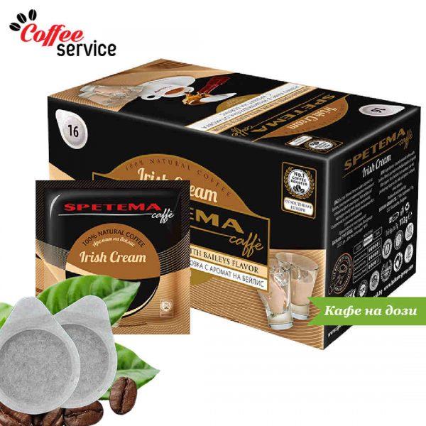 Дози кафе, Spetema Irish Cream с аромат на Бейлис x 16