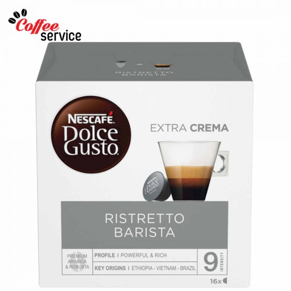 Капсули кафе, NESCAFÉ® Dolce Gusto Ristretto Barista x 16