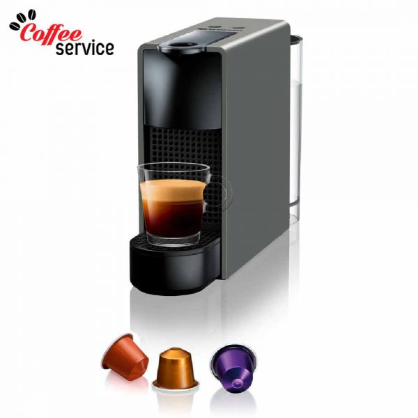 Кафемашина с капсули, Nespresso Essenza Mini, сива