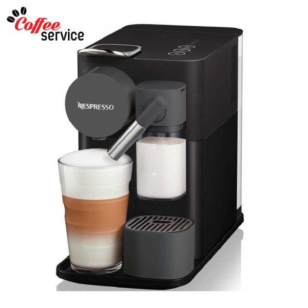 Кафемашина с капсули, Nespresso Lattissima One, черна