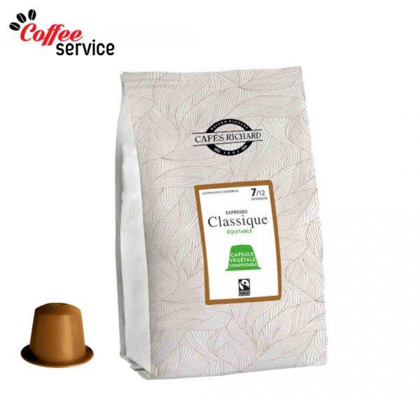 Капсули за Nespresso*, Ришар Класик, Биоразградими, x 50