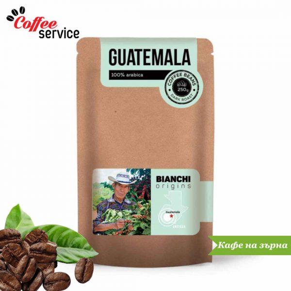 Кафе на зърна, Bianchi Origin Guatemala, 0.250 кг.