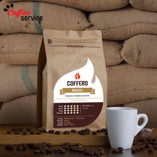 Кафе на зърна, Coffero, Бразилия Можиана, 0.250 кг.