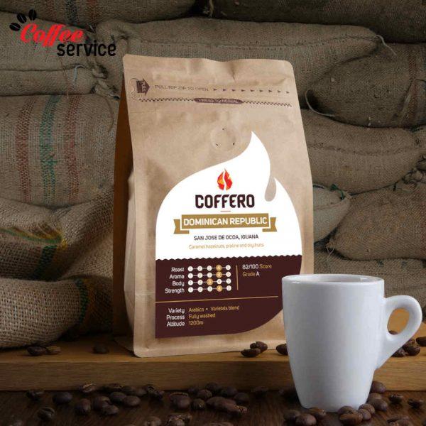 Кафе на зърна, Coffero, Доминиканска Република, Игуана, 0.250 кг.