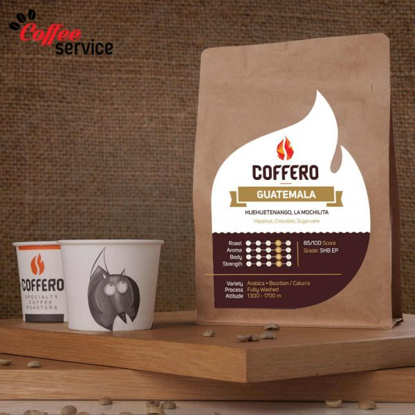 Кафе на зърна, Coffero Гватемала, Ла Мочилита, 0.250 кг.