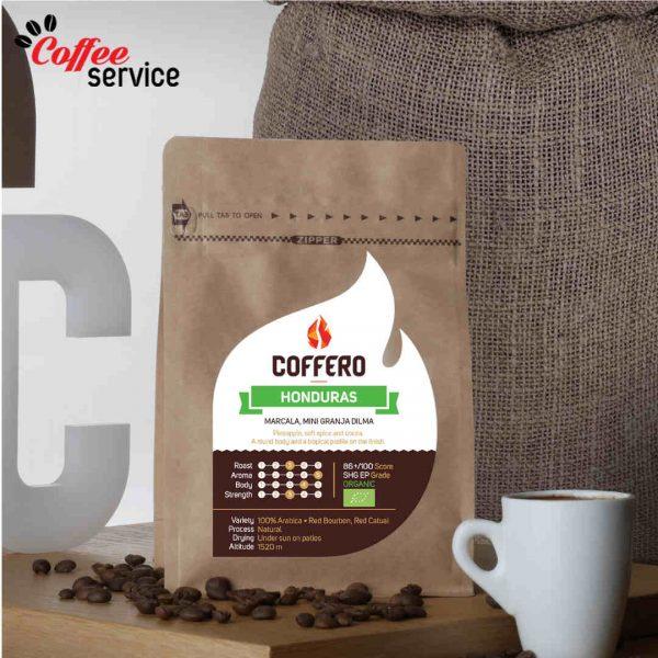 Кафе на зърна, Coffero, Хондурас, Мини Граня Дилма, БИО, 0.250 кг.