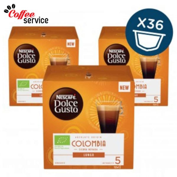 Капсули кафе, NESCAFÉ® Dolce Gusto, Colombia Sierra Nevada, Био, x 36