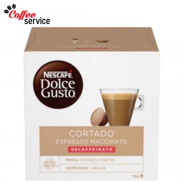 Капсули кафе, NESCAFÉ® Dolce Gusto, Cortado Decaf, x 16