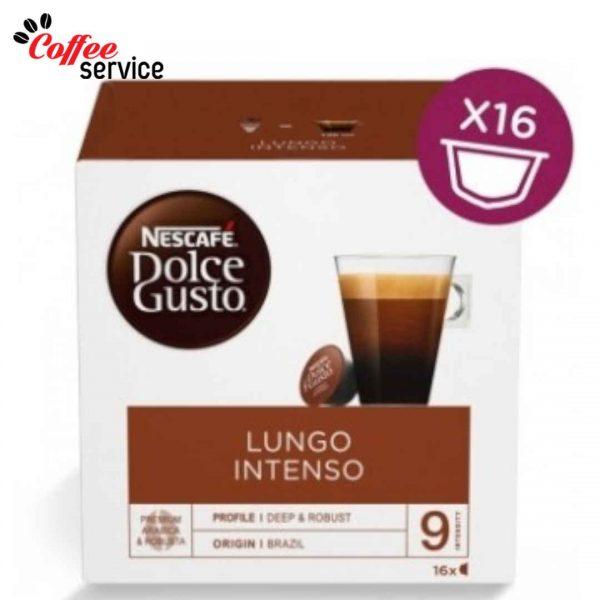 Капсули кафе, NESCAFÉ® Dolce Gusto, Lungo Intenso, x 16