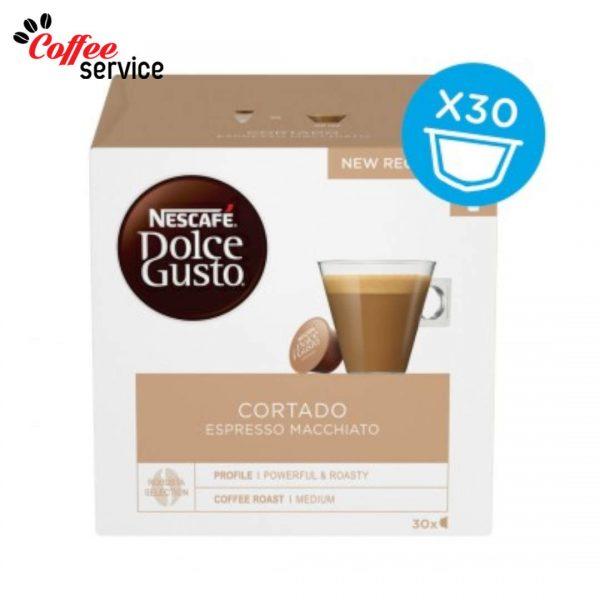 Капсули кафе, NESCAFÉ® Dolce Gusto, Cortado Espresso Macchiato Magnum, x 30