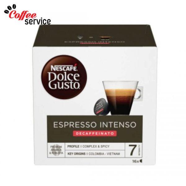 Капсули кафе, NESCAFÉ® Dolce Gusto, Intenso Decaffeinato, x 16